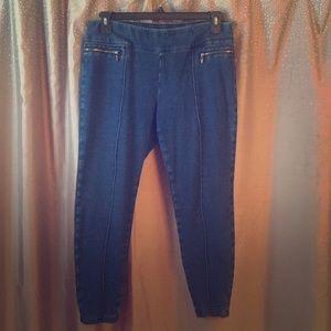 Style & Co Petite Knit Jegging Sz XL